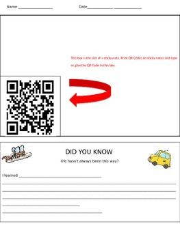 QR Code Transportation Unit Assessment