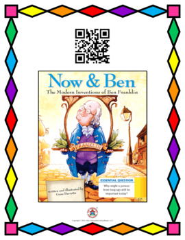 QR Code Video Listening Center for Journeys 2nd Grade Anchor Texts