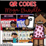 QR Code Video Task Cards BUNDLE: Sight Words, ABCs and Digraphs