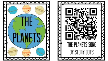 QR Codes - The Planets