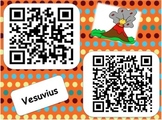 QR Code Volcano Virtual Field Trip