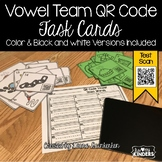 QR Code Vowel Team Sounds Activity Task Cards