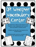 QR Code Weather Vocabulary Center