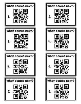 QR Code What Number Comes Next