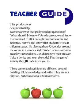 QR Code: What's Next ELA Rolodex (Middle School Level)