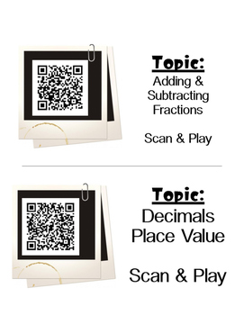 QR Code: What's Next Math Rolodex (Middle School Level)