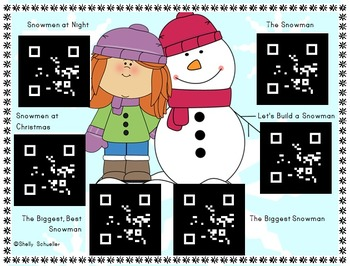 QR Code Winter Book Read Alouds and Songs