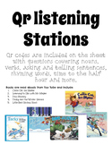 QR Code Winter Listening Center