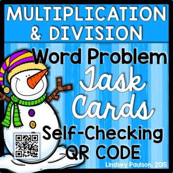 Multiplication Word Problems QR Code