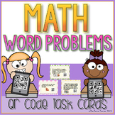 Math Word Problem QR Task Cards