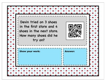 QR Code Word Problems without Key Words