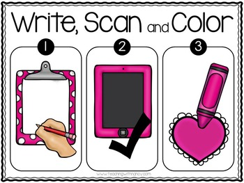 QR Code: Write and Scan Blends and Digraphs