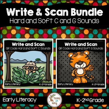 QR Code Write and Scan Bundle Hard and Soft C and G