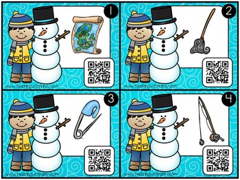 QR Code: Write and Scan CVC Words