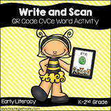 QR Code: Write and Scan CVCe Words