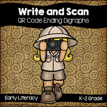 QR Code Write and Scan Ending Digraphs