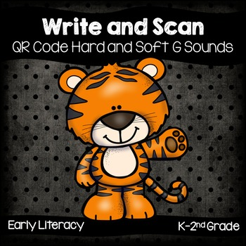 QR Code Write and Scan Hard and Soft G Sounds