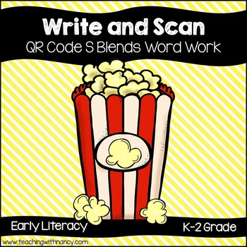 QR Code: Write and Scan S Blend Words