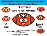 "QR Code ""Write the Room"": Football Themed ABC and Beg. Sou"