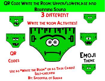 "QR Code ""Write the Room"" Fun: Creepy Underwear Theme"