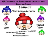 QR Code Write the Room Fun: Snowman Emoji Beg. Sound/Upper