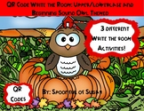 "QR Code ""Write the Room"": Owl Themed Upper/lowercase and B"