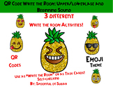 "QR Code ""Write the Room"": Pineapple Emojis Beg. Sound and"