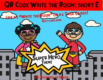 "QR Code ""Write the Room"": Short E Super Heroes"
