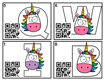 "QR Code ""Write the Room"": Unicorn themed"