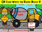 "QR Code ""Write the Room"" or Task Cards: Construction theme"