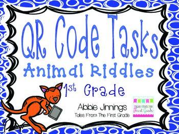 QR Code Zoo Animal Riddles