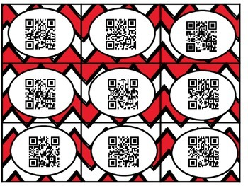 QR Code and Word Sort