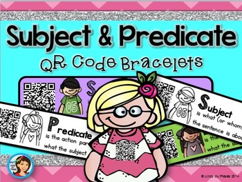 QR Code bracelets {Subject and Predicate}