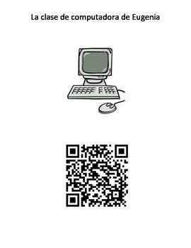 QR Code la clase de computadora de Eugenia #4