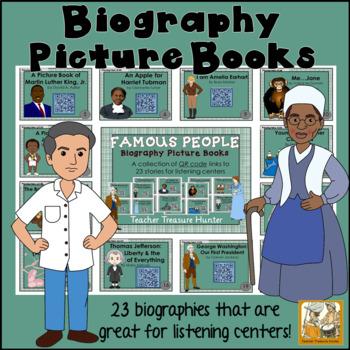 QR Code stories - 23 stories ~ FAMOUS PEOPLE Biographies