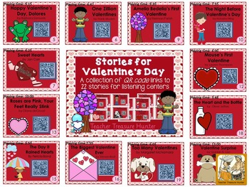 QR Code stories Valentine's Day