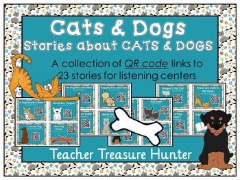 QR Code stories about CATS & DOGS