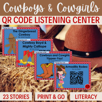 QR Code stories about COWBOYS & COWGIRLS