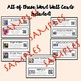 QR Coded Word Wall-Colonial America