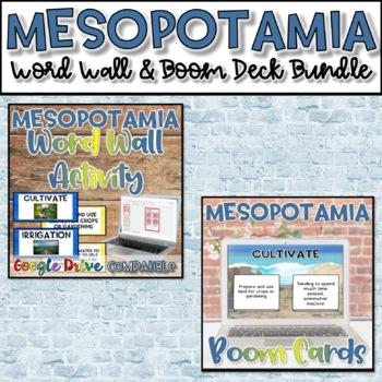 QR Coded Word Wall-Mesopotamia