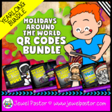 Holiday QR Codes Scavenger Hunt BUNDLE (Earth Day QR Codes