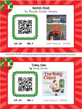QR Codes:  20 Christmas Read Alouds