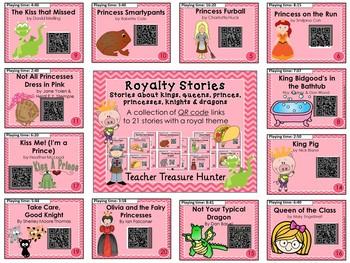 QR Codes - 21 QR stories ~ prince princess dragon knight king stories