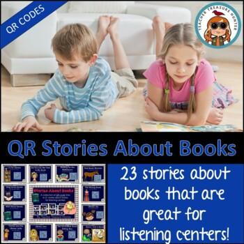 QR Code Listening Center ~ 21 stories about books