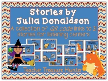 QR Codes - 21 stories by Julia Donaldson the GRUFFALO gr8 4 listening centers