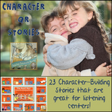 QR Codes - 23 Character Building Stories *Great for Listening Centers K-3
