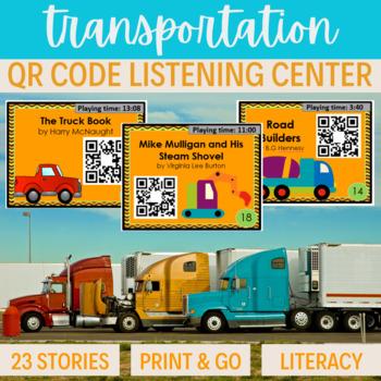 QR Code Listening Center ~ 23 stories Transportation VEHICLE theme