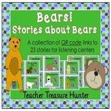 Listening Center QR code stories bears