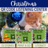 QR Codes - 23 stories for CHRISTMAS  *Great for Listening Centers K-2