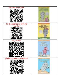 QR Codes - 24 Spanish Listening Center Books